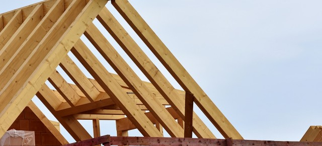 L'eleganza dei tetti in legno